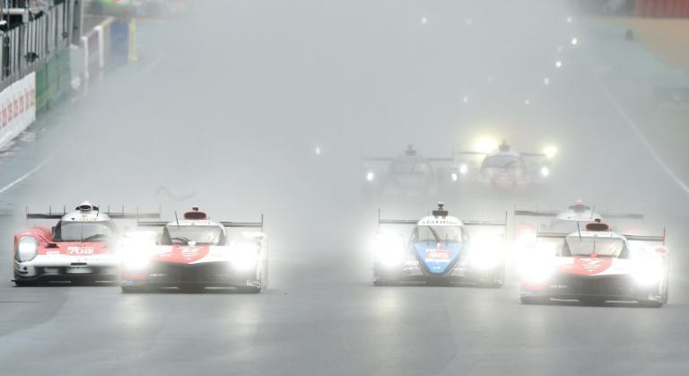 Soggy start for the Le Mans grid on Saturday