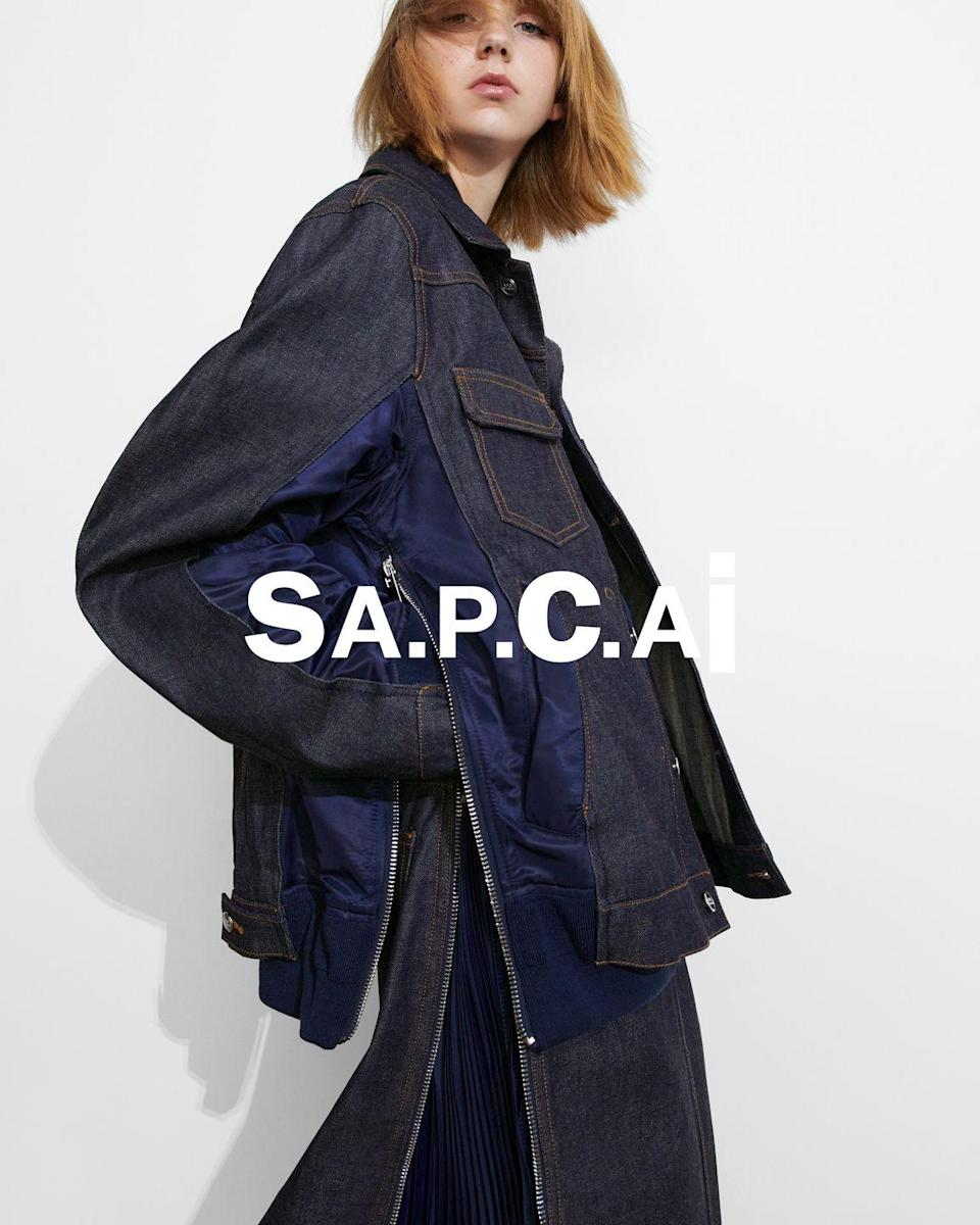 """<p><strong>Who: </strong>A.P.C.</p><p><strong>What: </strong>Collaboration with Sacai</p><p><strong>Where:</strong> In A.P.C. stores and on apc-us.com</p><p><strong>Why: </strong>A.P.C. has initiated their 9th collaboration, or Interaction, with the Japanese brand Sacai. Designer Chitose Abe infused her signature hybridity and deconstruction of wardrobe basics with the French label known for easy, wearable pieces. Jean Touitou said of the collaboration that they """"push the limits of what we might call 'wearability'."""" Denim jackets have nylon bomber jacket vents seamlessly integrated on its sides and hoodies and t-shirts are printed with the hybrid logo, SA.P.C.AI. The end result are pieces that speak to both brand's core style and chicness.</p><p> <a class=""""link rapid-noclick-resp"""" href=""""https://go.redirectingat.com?id=74968X1596630&url=https%3A%2F%2Fwww.apc-us.com%2Fcollections%2Fapc-x-sacai&sref=https%3A%2F%2Fwww.elle.com%2Ffashion%2Fshopping%2Fg35685914%2Fmarch-2021-fashion-collaborations-launches%2F"""" rel=""""nofollow noopener"""" target=""""_blank"""" data-ylk=""""slk:SHOP NOW"""">SHOP NOW</a><br></p>"""
