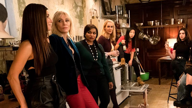 """Image result for """"Ocean's 8"""" To Reportedly Achieve Franchise-Best With $44 Million Opening"""