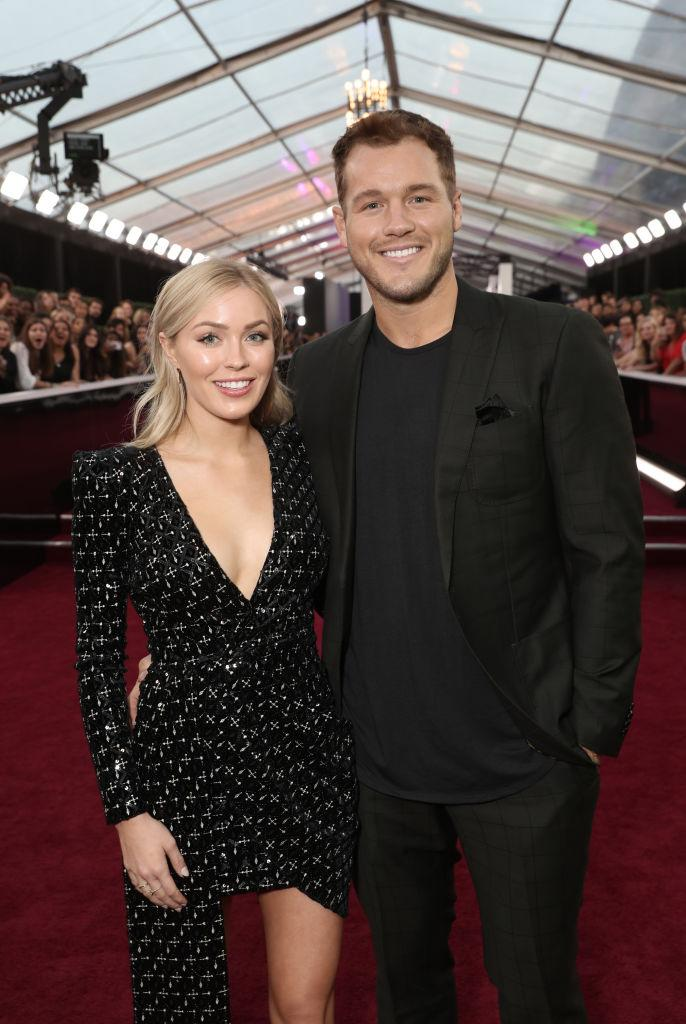 "Former ""Bachelor"" contestant Colton Underwood and girfriend, Cassie Randolph. (Photo by Todd Williamson/E! Entertainment/NBCU Photo Bank via Getty Images)"