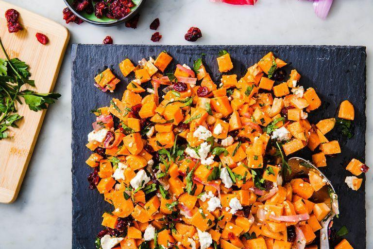 """<p>Now that summer's over, baked goods, soups, and warm casseroles basically take over our meal planning. But these healthy, delish salads are here to balance out all the <a href=""""https://www.delish.com/cooking/g1770/best-pumpkin-recipes/"""" rel=""""nofollow noopener"""" target=""""_blank"""" data-ylk=""""slk:pumpkin-flavored"""" class=""""link rapid-noclick-resp"""">pumpkin-flavored</a> goodness. They're stuffed with all the best fresh fall produce, from <a href=""""https://www.delish.com/food-news/a23009481/chart-how-to-use-all-apples-fall/"""" rel=""""nofollow noopener"""" target=""""_blank"""" data-ylk=""""slk:apples"""" class=""""link rapid-noclick-resp"""">apples</a> to squash to cranberries. Looking for more autumnal inspiration? Check out our favorite fall <a href=""""https://www.delish.com/cooking/recipe-ideas/g3496/fall-appetizers/"""" rel=""""nofollow noopener"""" target=""""_blank"""" data-ylk=""""slk:appetizers"""" class=""""link rapid-noclick-resp"""">appetizers</a>, <a href=""""https://www.delish.com/cooking/recipe-ideas/g3026/fall-soup-recipes/"""" rel=""""nofollow noopener"""" target=""""_blank"""" data-ylk=""""slk:soups"""" class=""""link rapid-noclick-resp"""">soups</a>, and <a href=""""https://www.delish.com/cooking/g1967/fall-cocktails-recipes/"""" rel=""""nofollow noopener"""" target=""""_blank"""" data-ylk=""""slk:cocktails"""" class=""""link rapid-noclick-resp"""">cocktails</a>.</p>"""