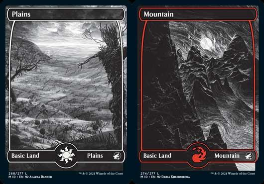 I guess more Dog lands didn't suit the design theme... (Images: Wizards of the Coast)