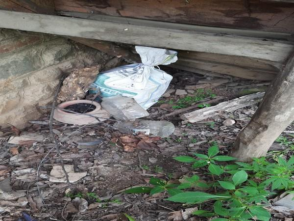 5 Kg explosive material was recovered from an orchard near Tral in Pulwama district on Monday.