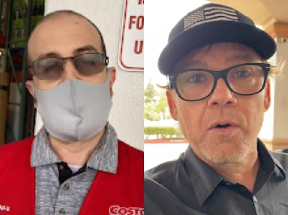 <p>Ricky Schroder, who was known for his role in the television series Silver Spoons during the 1980s, posted the video of him confronting an employee </p> (Facebook)