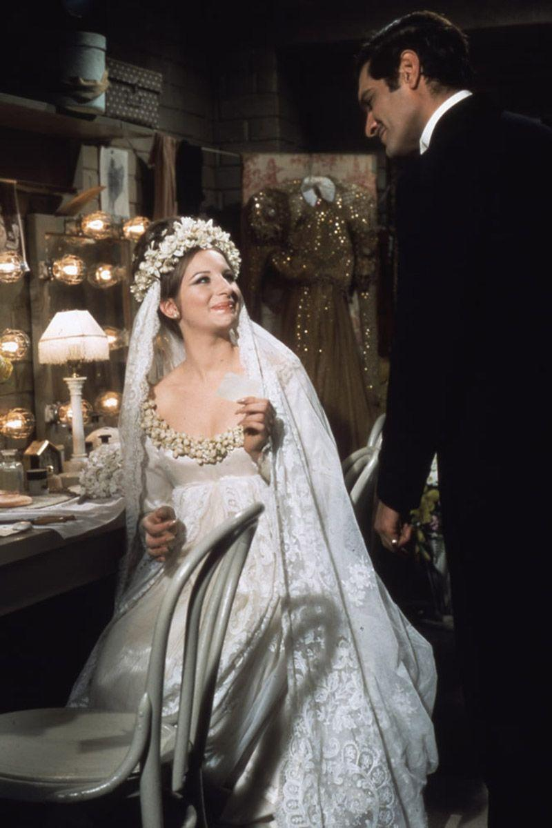 "<p>We didn't <em>technically</em> see what Fanny Brice wore to say ""I do"" to the dashing Nick Arnstein, but Barbra Streisand was wearing an absolutely gorgeous wedding gown for her performance with the Ziegfeld Follies when the two characters fell in love.<br></p>"