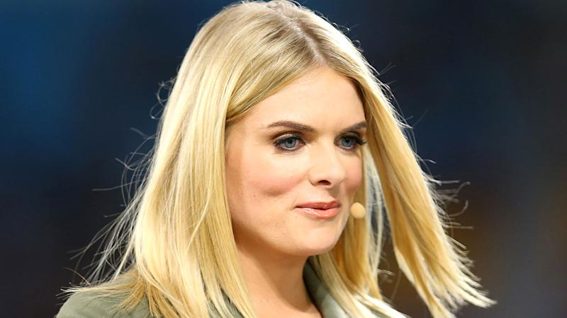 Pictured here, Channel Nine rugby league presenter Erin Molan.