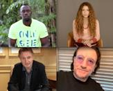 <p>Usain Bolt, Shakira, Liam Neeson and Bono appear during the Concern Global Gala: Unite to Fight Hunger on Friday to raise funds to fight global hunger.</p>