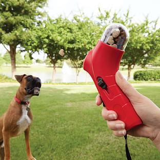 """<p>This spring-loaded contraption will launch small treats into the air for your dog to catch. Great for those who lack a strong throwing arm or are just incredibly lazy. <a href=""""http://www.containerstore.com/s/stocking-stuffers/dog-treat-launcher/1d?productId=11001883&utm_source=Linkshare&utm_medium=Affiliate&utm_campaign=Linkshare_Affiliate"""" target=""""_blank"""">Available from the Container Store for $9.99</a>. <i>(Photo: <a href=""""http://www.containerstore.com/s/stocking-stuffers/dog-treat-launcher/1d?productId=11001883&utm_source=Linkshare&utm_medium=Affiliate&utm_campaign=Linkshare_Affiliate"""" target=""""_blank"""">Container Store</a>)</i></p>"""
