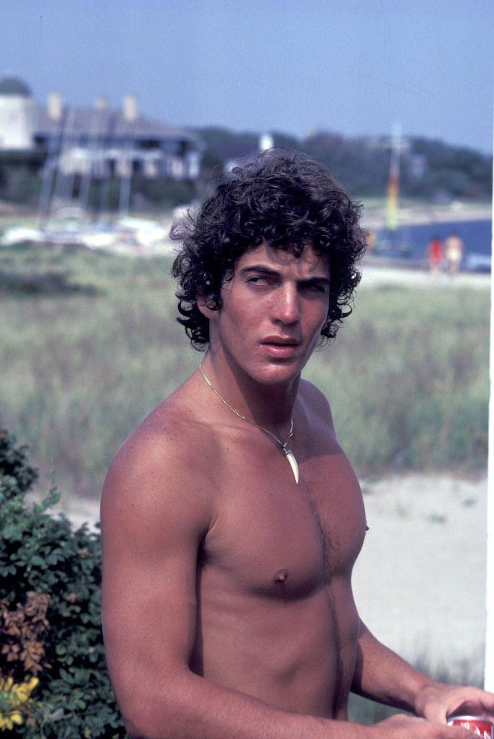 <p>In 1980, Galella captured JFK Jr. spending Labor Day weekend in Hyannis, Massachusetts, where the Kennedy compound is located. <br></p>