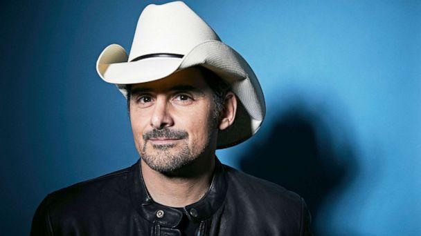 PHOTO: Brad Paisley poses for a portrait in New York to promote his new variety special, 'Brad Paisley Thinks He's Special', Nov. 18, 2019. (Matt Licari/AP, FILE)