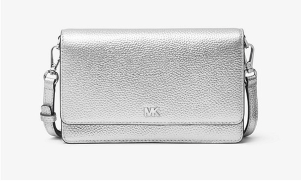 Metallic Pebbled Leather Convertible Crossbody Bag. (PHOTO: Michael Kors)