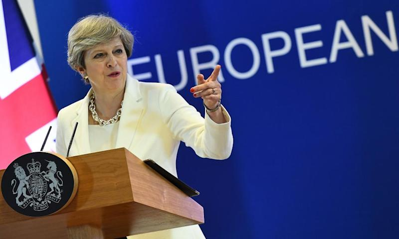 Theresa May has said that Britain will not have left the European Union if it is not in control of its laws.