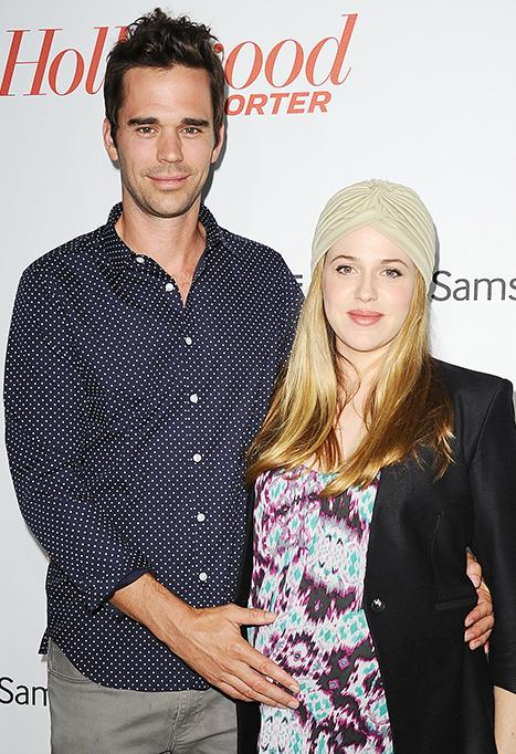 """David Walton and Majandra Delfino Welcome Son Louis: """"We Couldn't Be Happier With Our Very Early Christmas Gift"""""""