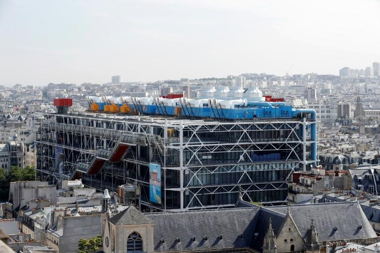 Art machine: The Pompidou in Paris in closing for four years for a refit