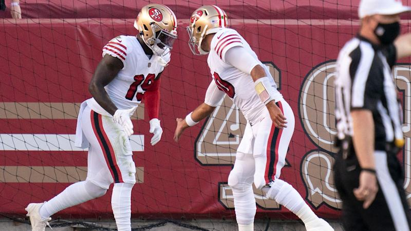 49ers keep lead vs. Rams thanks to overturning of bizarre fumble call