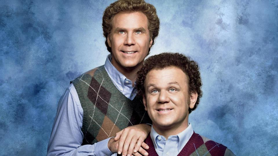 <p> <strong>UK:</strong> Netflix, Amazon Prime Video (rent or buy) </p> <p> <strong>US:</strong> Netflix </p> <p> Will Ferrell and John C. Reilly costar as two step brothers who aren't exactly happy to be thrown into the same house together. Both grown ups who act like children, the pair provide many laugh-out-loud moments with great chemistry between them. </p>