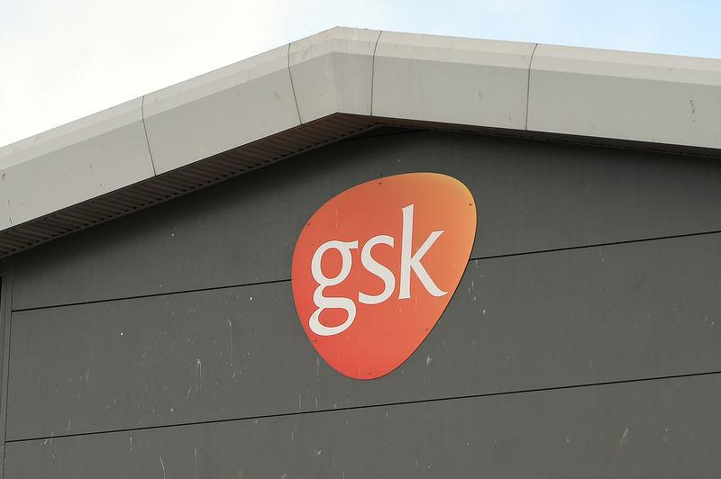 GlaxoSmithKline's production building is seen in Montrose, Scotland