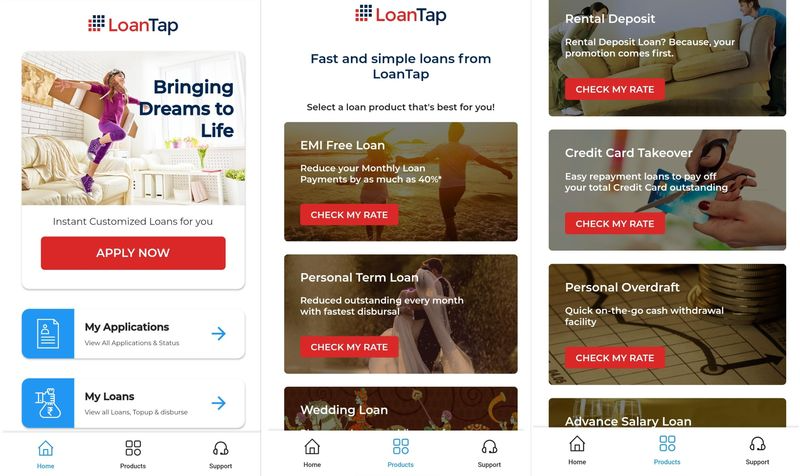 Loantap collage