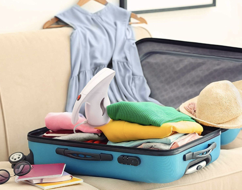 Compact enough for carryons, the PurSteam garment steamer is perfect for travelers. (Photo: Amazon)
