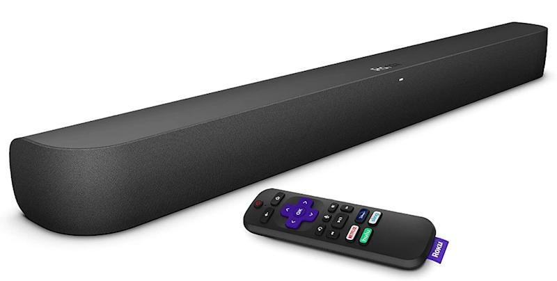 The Roku Smart Soundbar features powerful audio and a built-in Roku player, at a rock-bottom price. (Image: Roku)