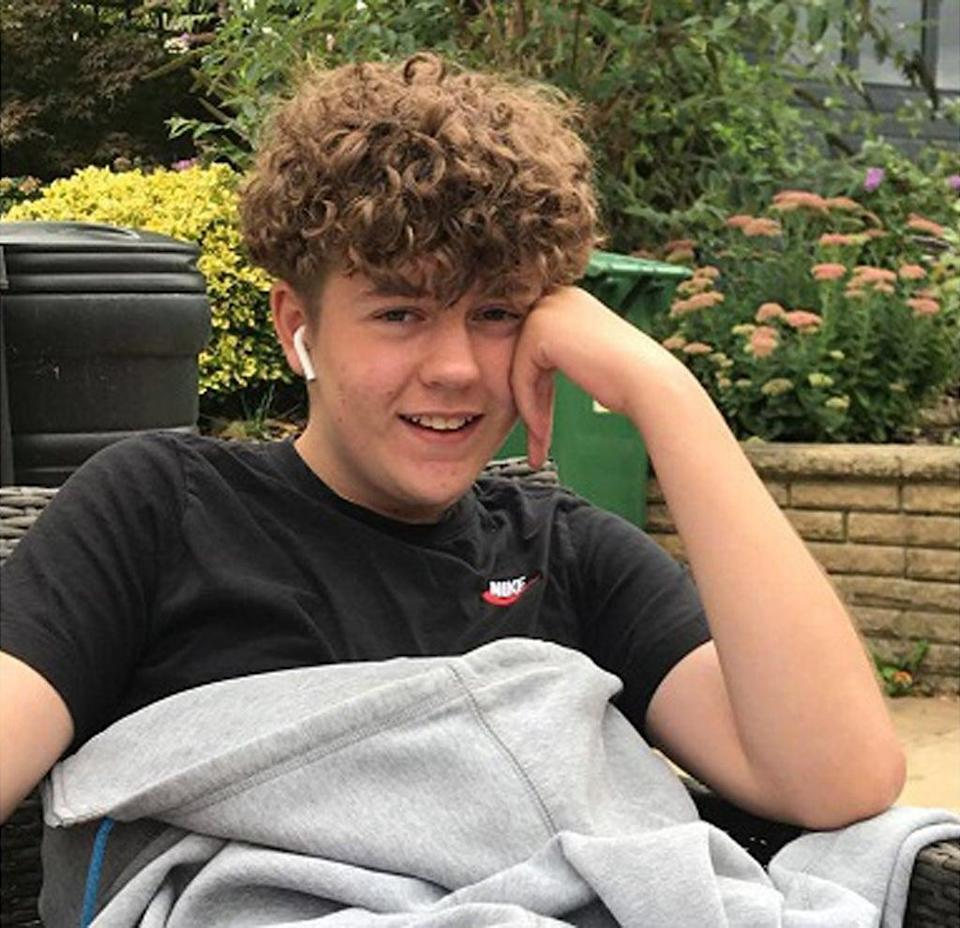 Olly Stephens, 13, was killed on Sunday January 3 this year, just a short distance from his home (Thames Valley Police/PA) (PA Media)