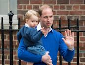 <p>George's life changed in 2015 when he became a big brother to Charlotte. (Zak Hussein/Corbis via Getty Images)</p>