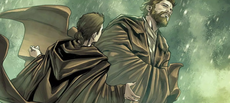 Obi-Wan and Anakin (credit: Marvel Comics)