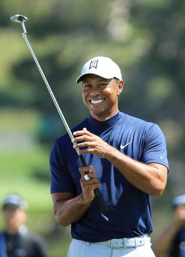 """<p>Eldrick Tont Woods was nicknamed """"Tiger"""" in honor of his father's friend.</p>"""