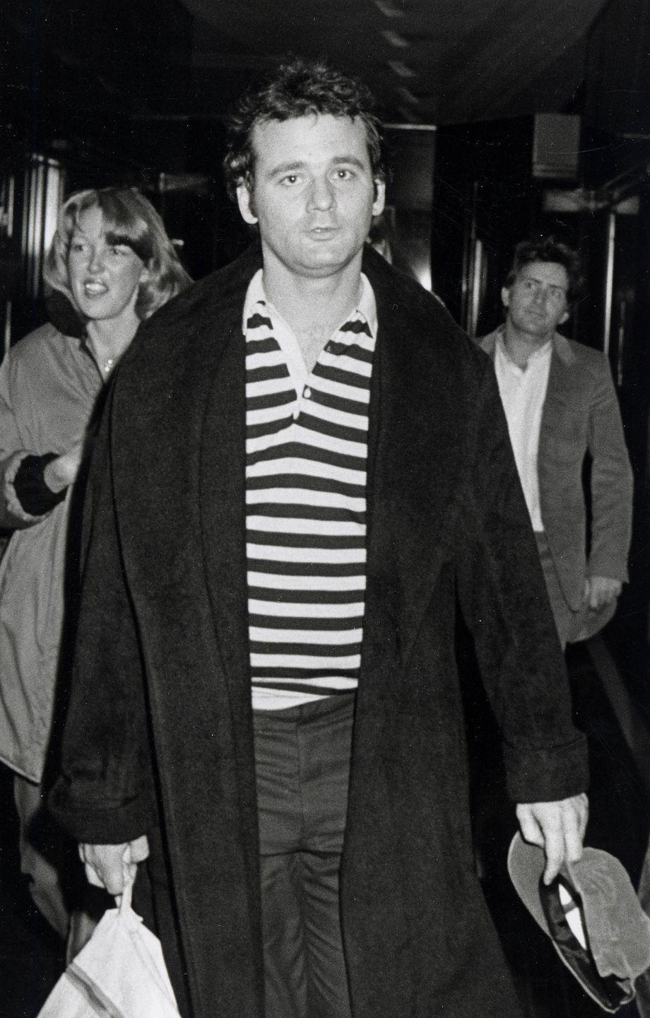 <p>Bill Murray out in NYC in 1979.</p>