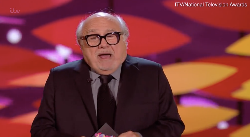 Danny DeVito's Arsenal joke didn't land with the NTA audience