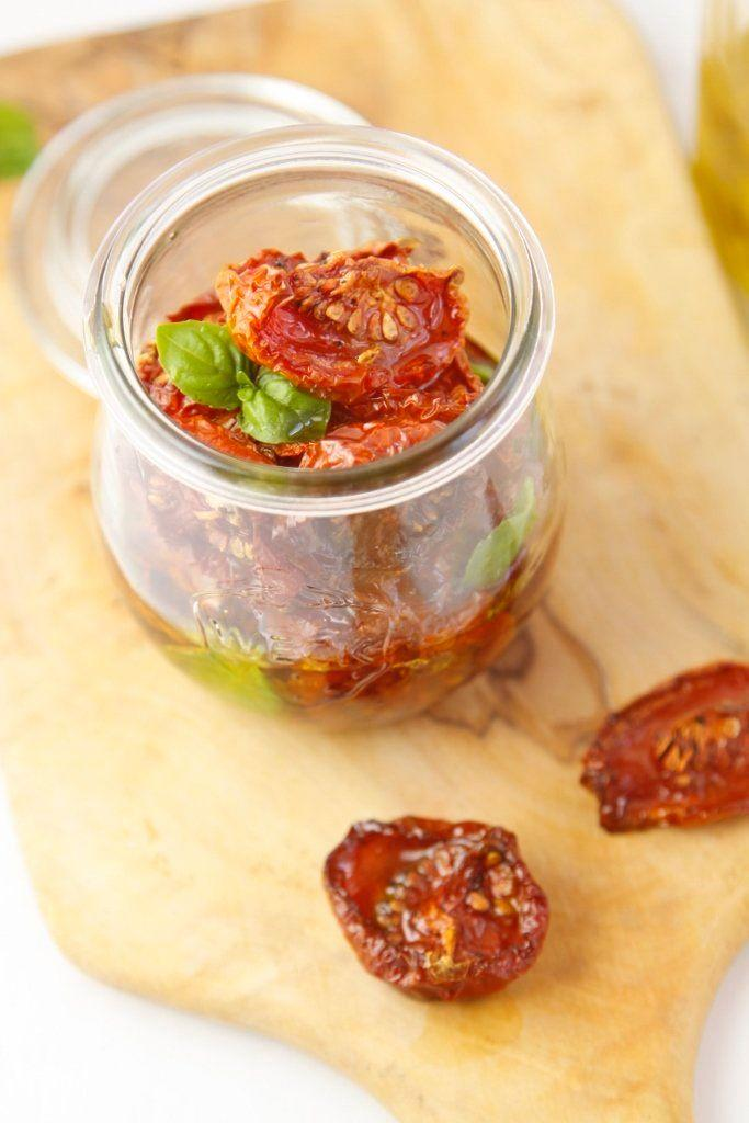 "<strong>Get the <a href=""http://www.bellalimento.com/2014/04/01/oven-roasted-preserved-tomatoes/"" target=""_blank"">Oven-Roasted Preserved Tomatoes recipe</a> from Bell'alimento</strong>"
