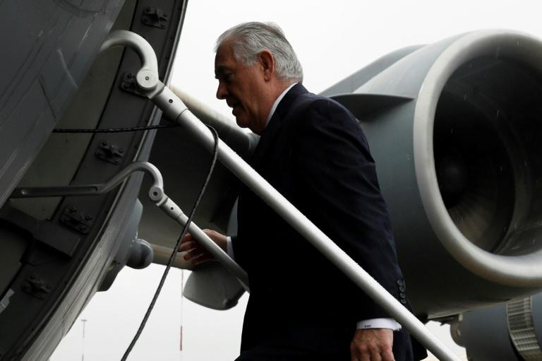 As Secretary of State, Rex Tillerson never really built up a bond with Donald Trump