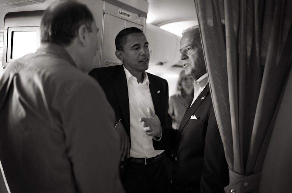 <p>Back when Obama was a senator with a dream of becoming president, he and his running mate, Joe Biden, worked hard on the campaign trail. </p>