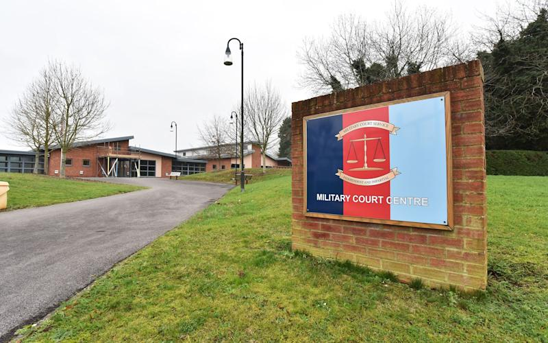 Bulford Military Court, in Wiltshire