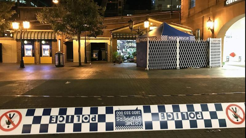 Police have shot a man dead at Sydney's Central train station following reports of an armed robbery.