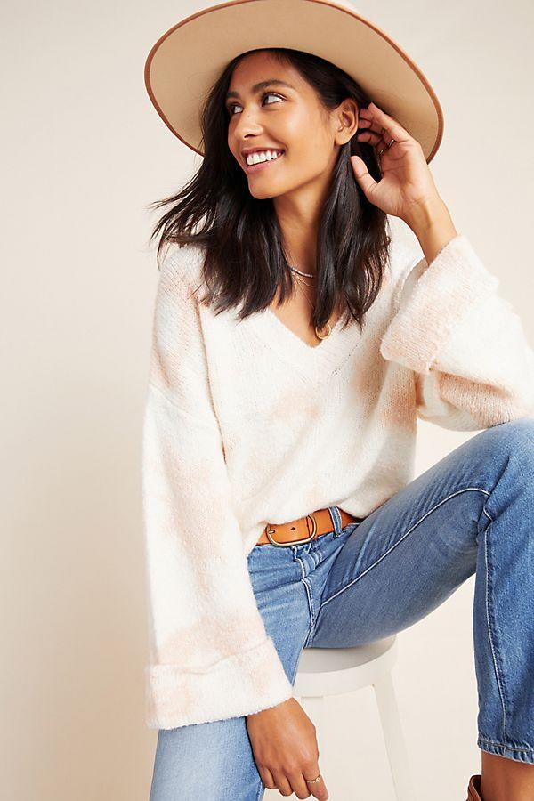 Maggie Bell-Sleeved Sweater