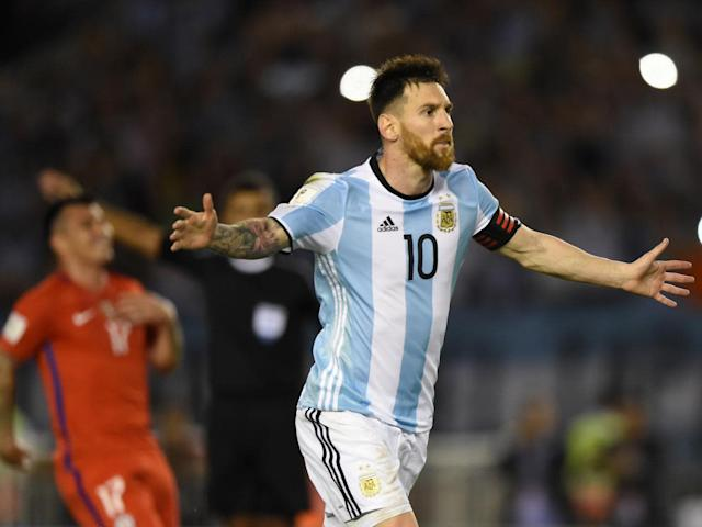 Messi's goal was enough to see off Chile (AFP/Getty)
