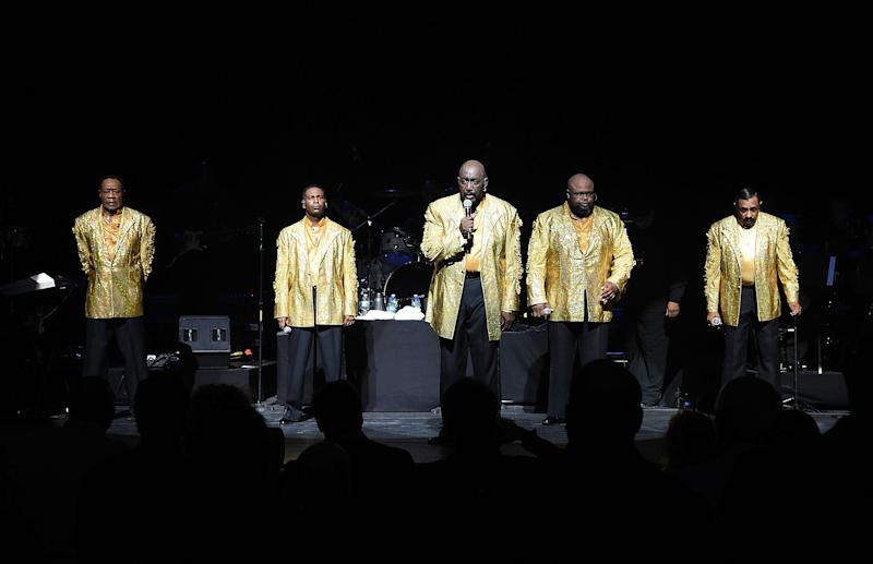 The Temptations in 2014 (Photo: Andrew H. Walker via Getty Images)