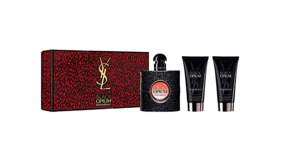 YVES SAINT LAURENT Black Opium Eau de Parfum Gift Set for her