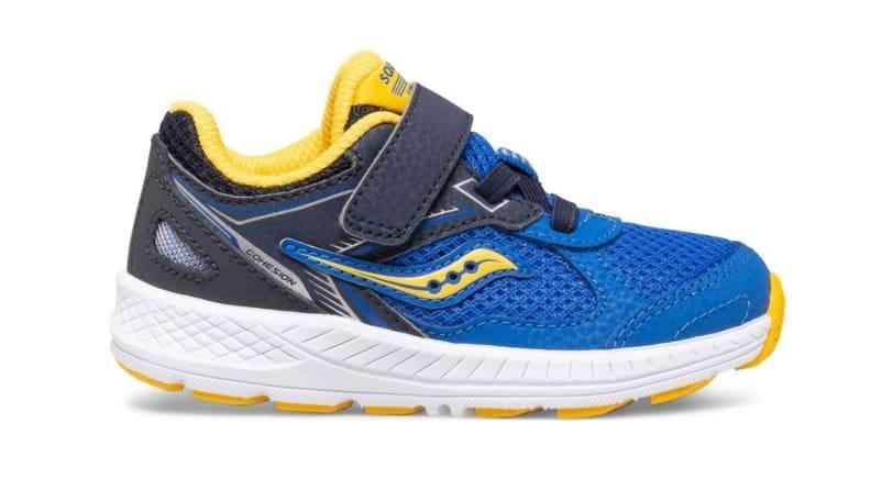 Saucony shoes are American-made and podiatrist-approved.