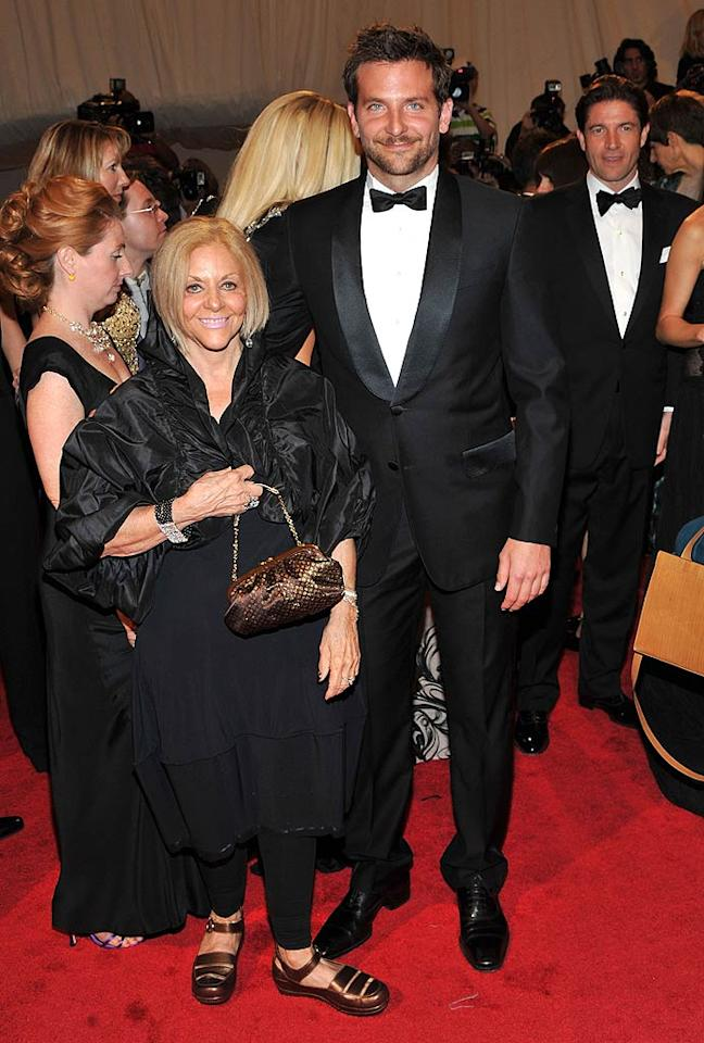 """""""The Hangover"""" hunk Bradley Cooper was accompanied by his lovely mom Gloria. Stephen Lovekin/<a href=""""http://www.gettyimages.com/"""" target=""""new"""">GettyImages.com</a> - May 2, 2011"""