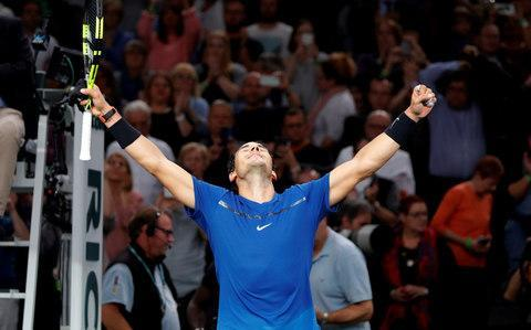 <span>Rafael Nadal will finish the year as world No 1 regardless of the outcome in London</span> <span>Credit: Reuters </span>