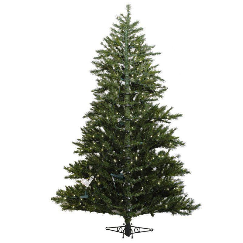 """<p><strong>The Holiday Aisle</strong></p><p>wayfair.com</p><p><strong>$159.99</strong></p><p><a href=""""https://go.redirectingat.com?id=74968X1596630&url=https%3A%2F%2Fwww.wayfair.com%2Fholiday-decor%2Fpdx%2Fthe-holiday-aisle-65-green-artificial-half-christmas-tree-with-stand-w003242296.html&sref=https%3A%2F%2Fwww.housebeautiful.com%2Fentertaining%2Fholidays-celebrations%2Fg4010%2Fbest-artificial-christmas-trees%2F"""" rel=""""nofollow noopener"""" target=""""_blank"""" data-ylk=""""slk:BUY NOW"""" class=""""link rapid-noclick-resp"""">BUY NOW</a></p><p>If your living room is already a little cramped, prop up a clever half tree against a free wall. You'll carve out more floor space and save time decorating as well.</p>"""