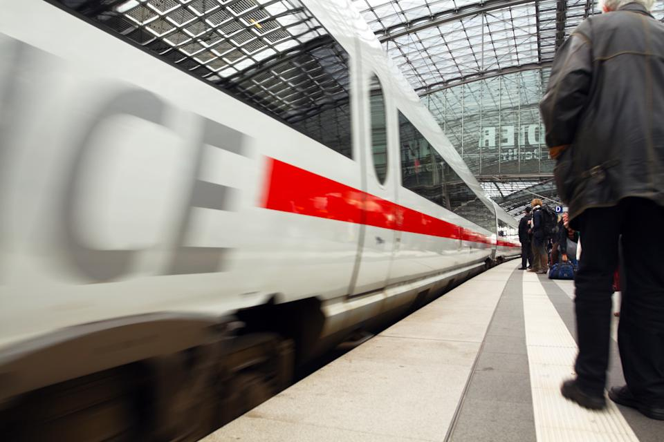 ICE is incoming at station Berlin