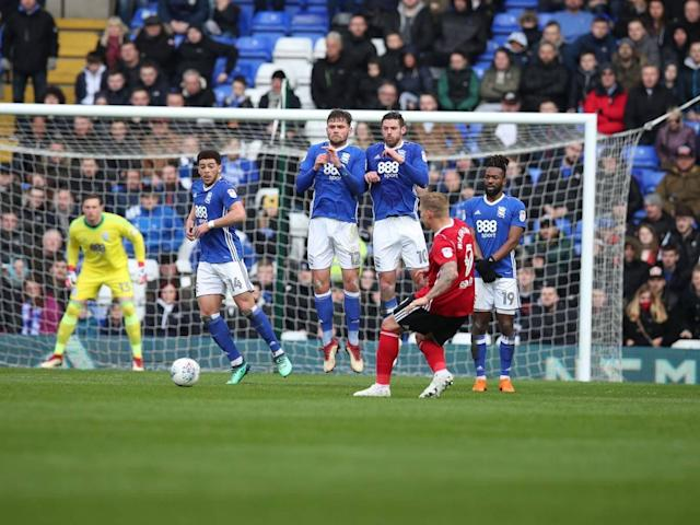 Birmingham move out of bottom three after vital win against Ipswich