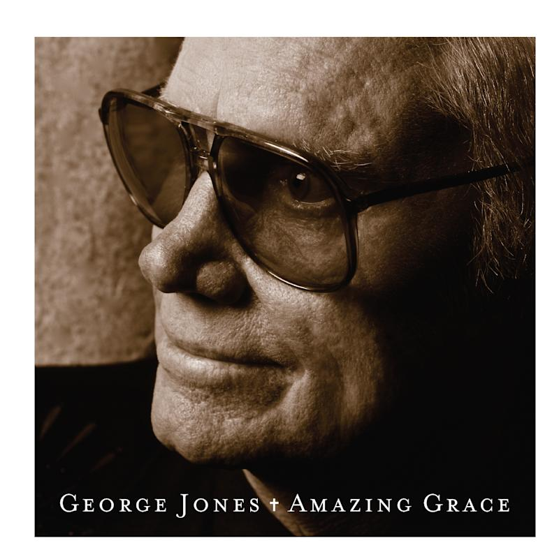 """This CD cover image released by Welk Records shows """"Amazing Grace,"""" by George Jones. (AP Photo/Welk Records)"""