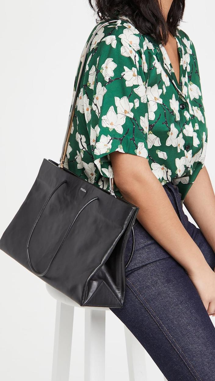 <p>The chain detail on this <span>Medea Busted Diece Medea Bag</span> ($950) is so cool.</p>