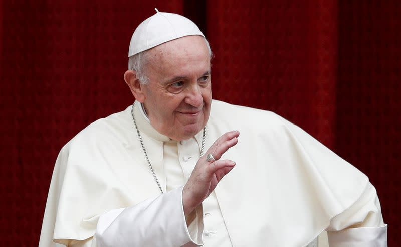 Pope tells leaders post-pandemic economic models must change