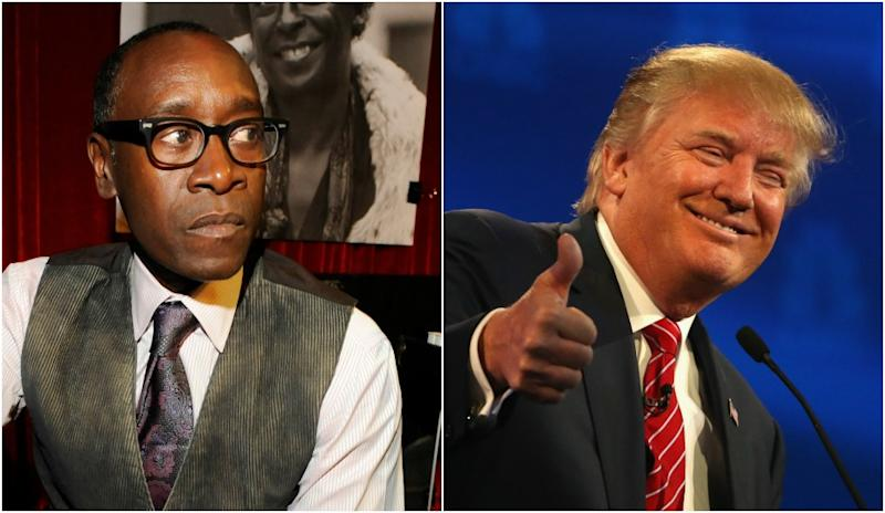 Don Cheadle shares racist Donald Trump story