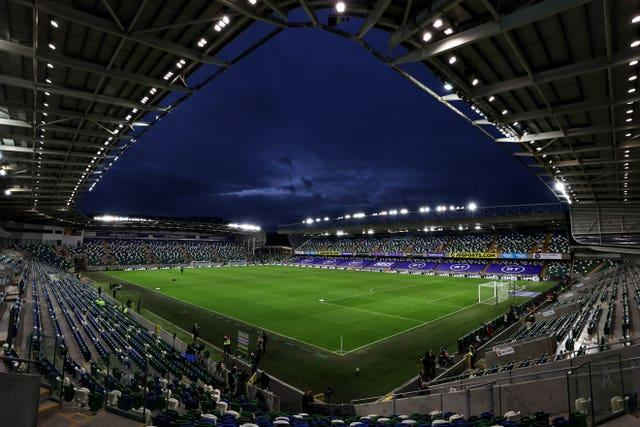 A general view of Windsor Park stadium